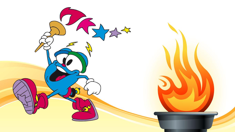 mascotes das olímpiadas: mascote da olímpiada 1996