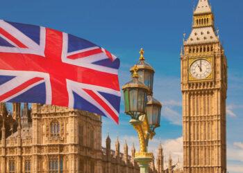 Premier League: Bandeira britânica, Big Ben, Casas do Parlamento e composição da bandeira britânica