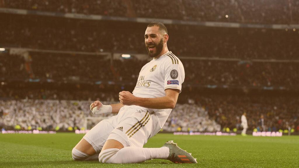 Maiores artilheiros da champions league: Karim Benzema