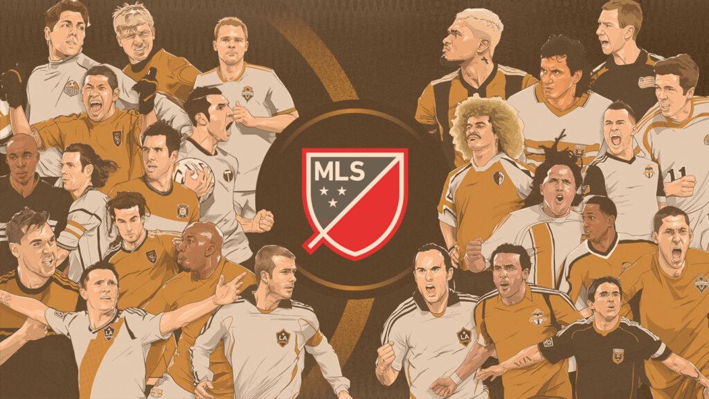 Representação de jogadores MLS