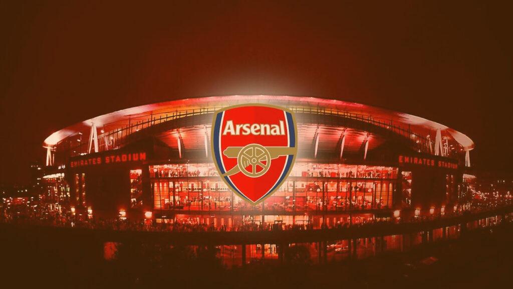 Escudo do time de futebol Arsenal