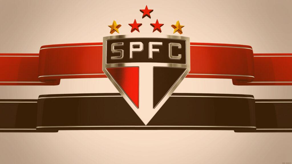 Escudo do time São Paulo Futebol Clube