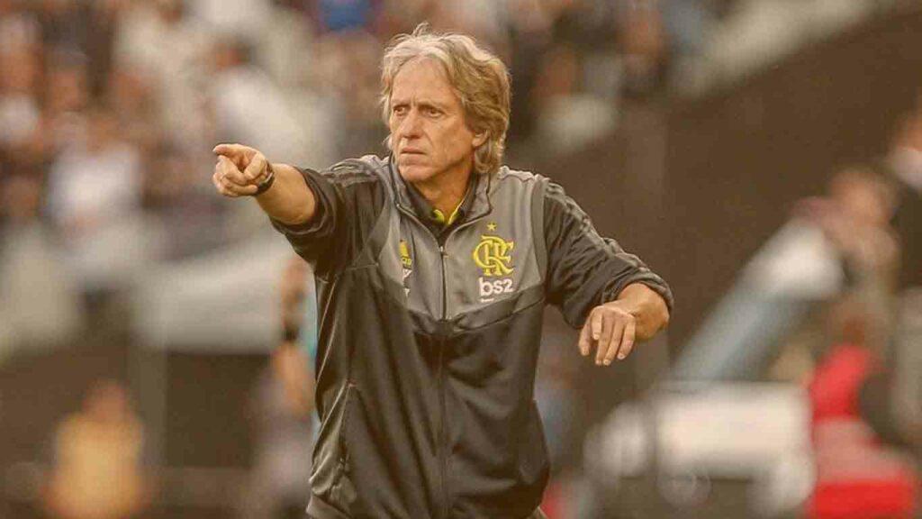 Técnico de futebol no Brasil: Foto treinador Jorge Jesus
