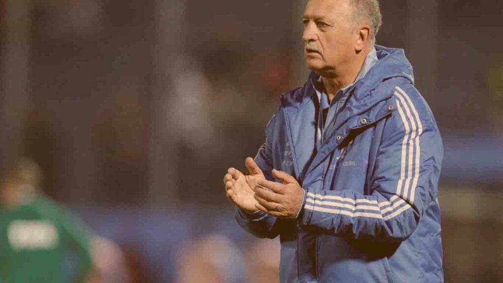Técnico de futebol no brasil: Foto do treinador Felipão