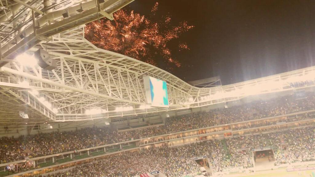 Foto de um show no estádio Allianz Parque