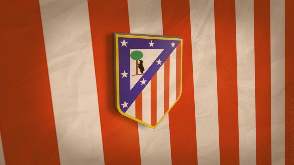 Times patrocinados pela nilke: Logo do Atlético de Madrid