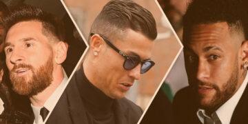 Jogadores de futebol mais bem pagos do mundo: Messi, Cristiano Ronaldo e Neymar